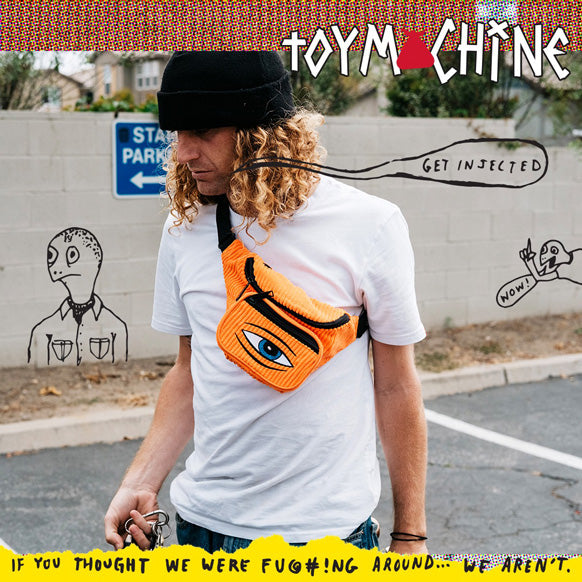 BUMBAG X TOY MACHINE BAGS OUT NOW