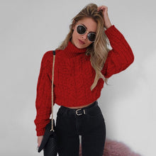 Load image into Gallery viewer, Twisted Turtleneck Sweater