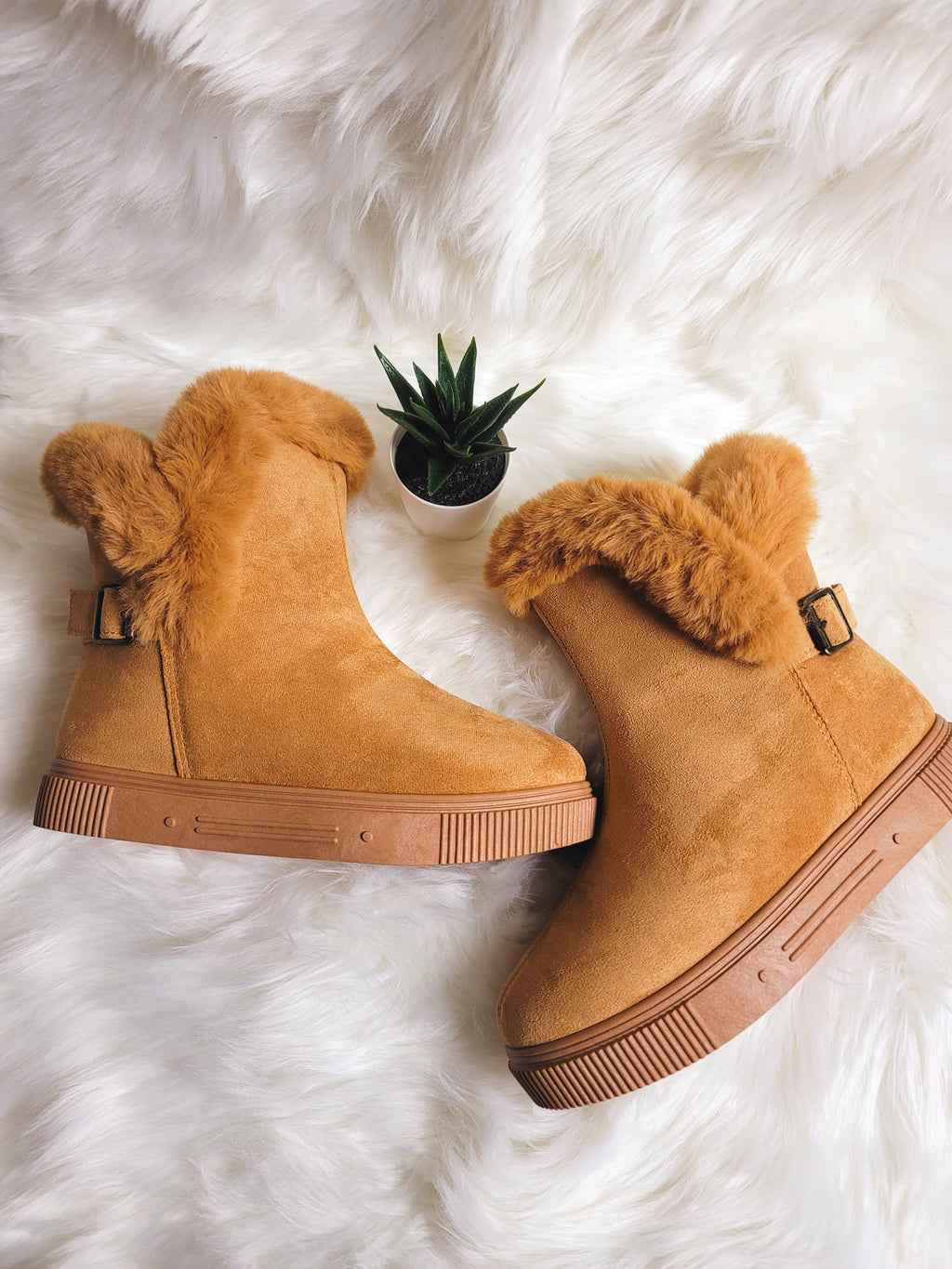 Snow Bound- Fur Lined Boots