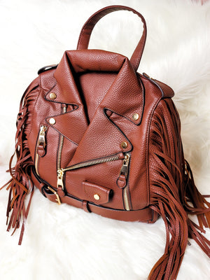 Janet Jacket Bag-Brown