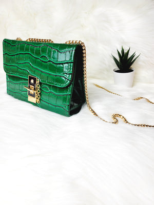 It Girl Croc Bag