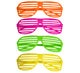 4 Pack of Neon Shutter Shades