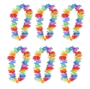 Pack of 6 Hawaiian Leis