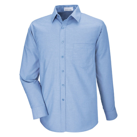 North End by Ash City - Men's Long Sleeve Oxford Shirt - 87038