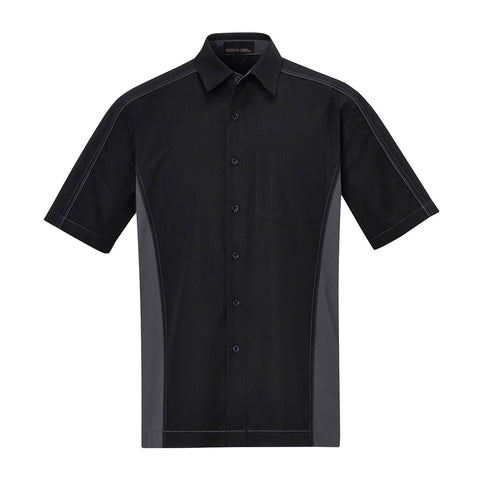 North End by Ash City - Men's Colour-Block Twill Shirt