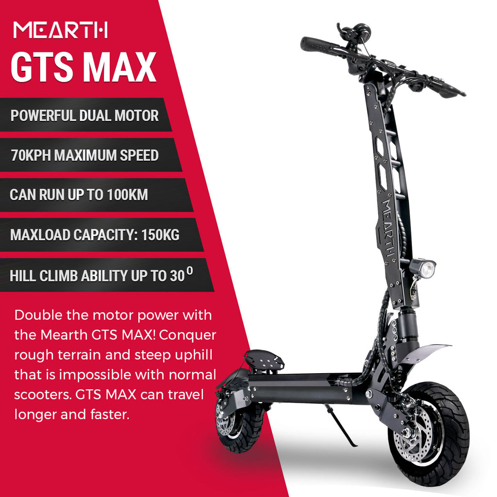 Mearth GTS MAX specs