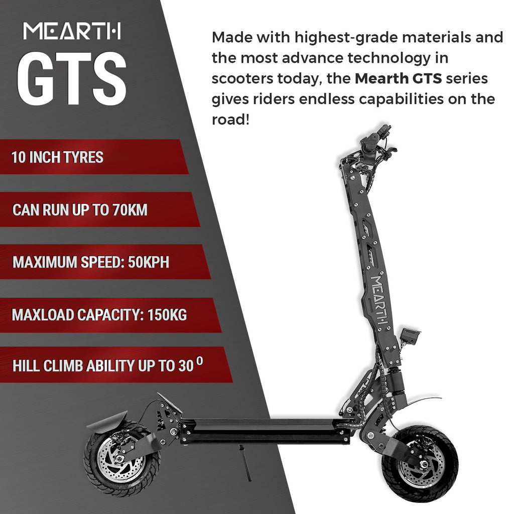 Mearth GTS specs