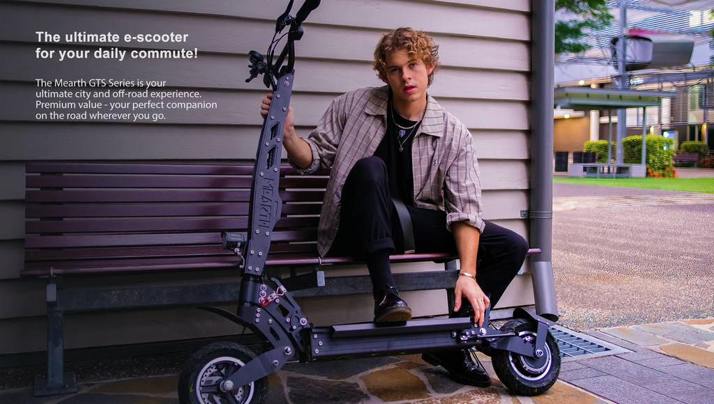 Mearth GTS Series Off-road Electric Scooter Ultimate commuter and suits all-terrain scooter