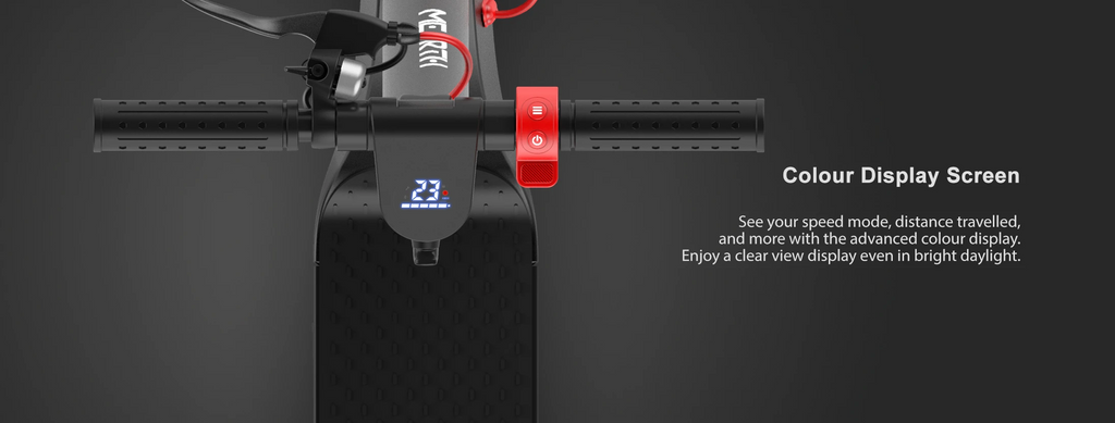 Mearth S and S Pro Electric Scooter Large Display Screen