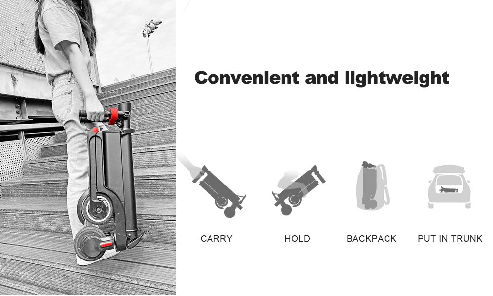 Most foldable escooter Backpack electric scooter