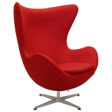 Arne Jacobsen Egg Chair red