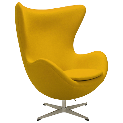 Arne Jacobsen Egg Chair yellow