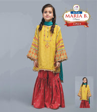 Load image into Gallery viewer, 2 Piece Kids Dress Maria B Master Winter Collection