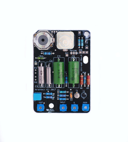 Ulti-Wah PIO & Dual Inductor - Assembled Board