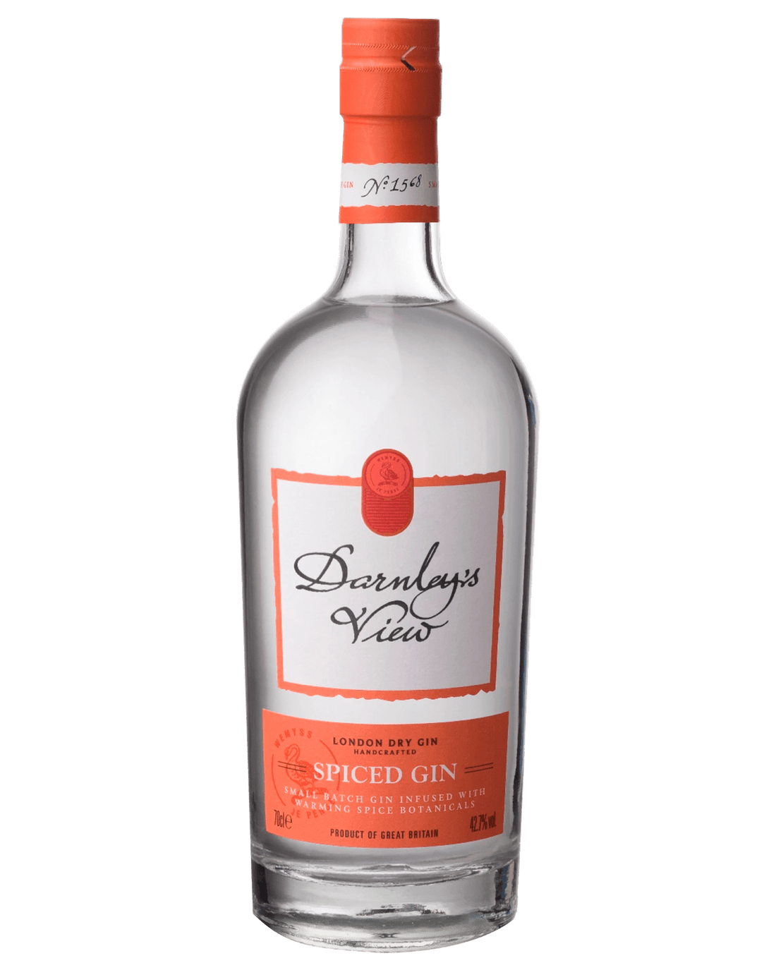 Darnley's View Spiced Gin (700ml)