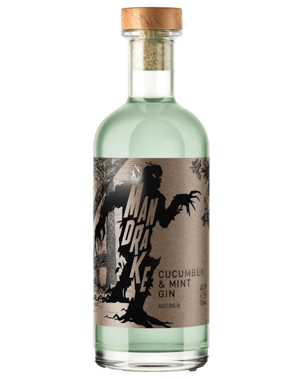 Nosferatu Distillery Mandrake Cucumber and Mint Gin (700mL)