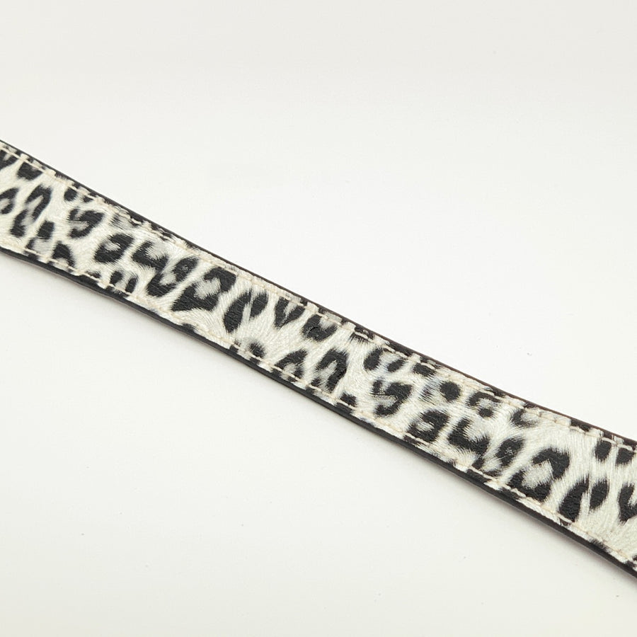 Handle - Leopard - White