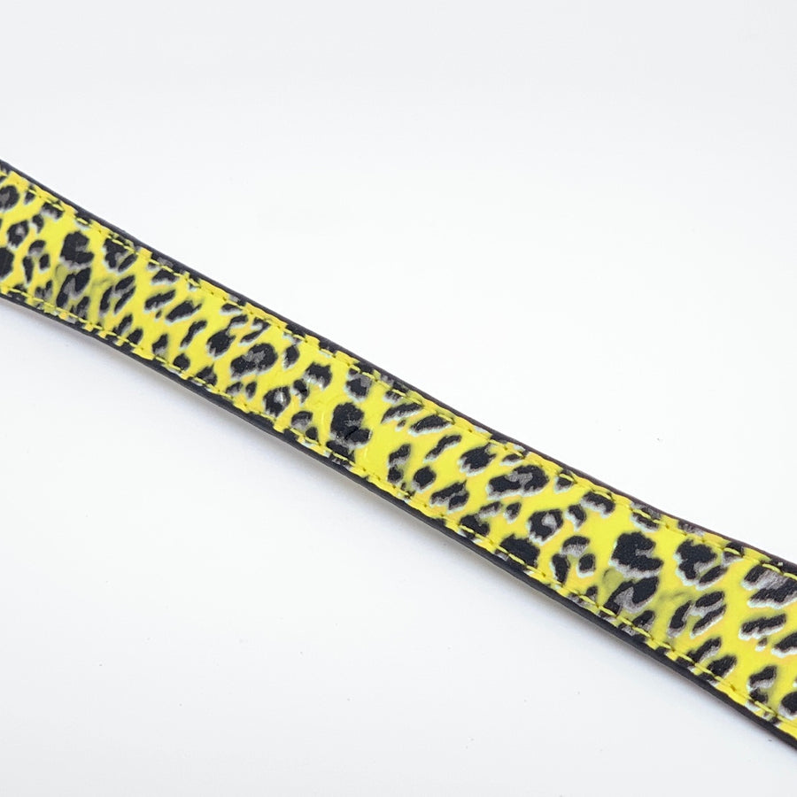 Handle - Leopard - Yellow