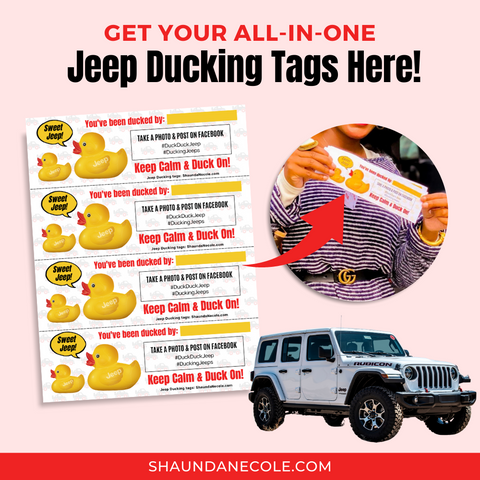Jeep Ducking Tags