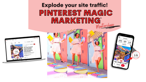 Pinterest Magic Marketing Masterclass Course How To Increase Blog Traffic
