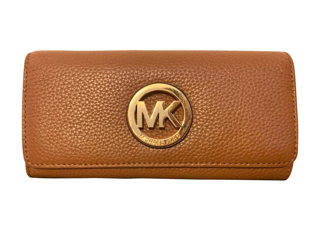 Billetera Michael Kors Luxury Fashion Mujer Color Marrón