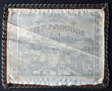 "Copy of BIELEFELD 1923 Linen with Border! ""Versailles Reparations"" 10,000 Mark Inflation German Notgeld"
