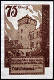 "ANDERNACH 1920 ""The Foreign Conquerors Come and Go"" Schiller quote complete set of one German Notgeld"