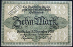 APOLDA 1918 10 Mark Grossnotgeld German Notgeld Banknote