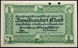 "ESSEN 1922 XX-RARE SPECIMEN! ""Fried. Krupp"" 200 Mark Early Inflation Notgeld"