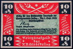 PASING 1918 SPECIMEN 10 Pf Series A circulating German Notgeld Bavaria