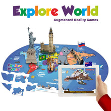 Load image into Gallery viewer, Playautoma Explore World - Augmented Reality based World Map Game