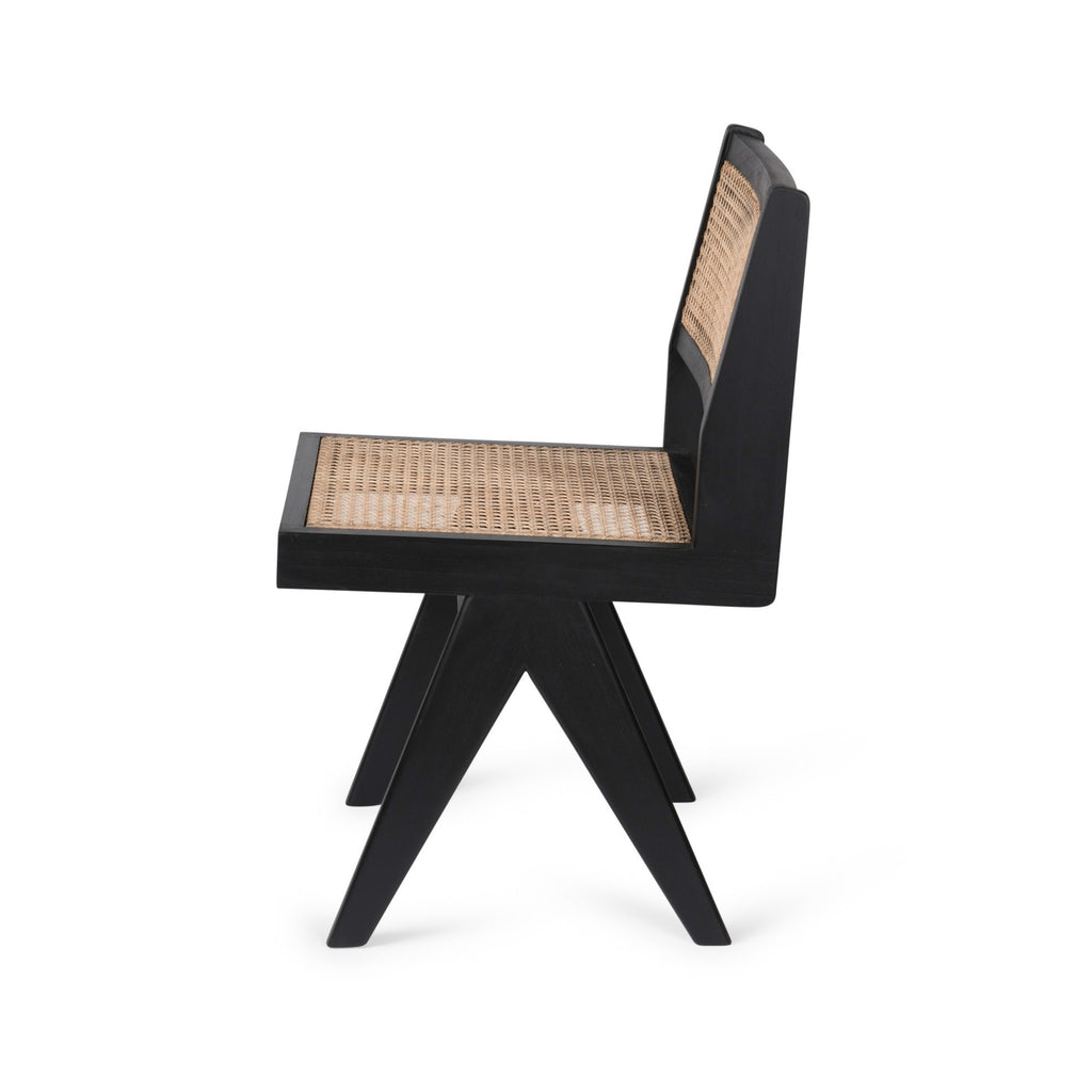 Dining Chair - Charcoal Black