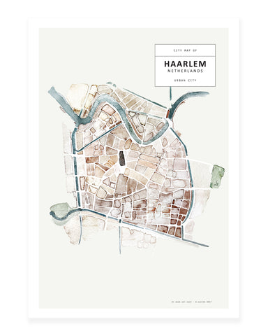 A5 Mini art print - Haarlem