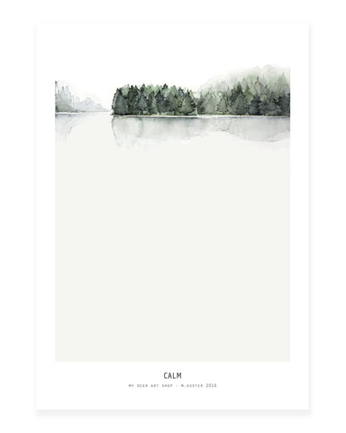 A5 Mini art print - Calm