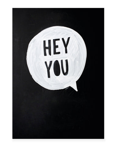 A5 Mini art print - Hey you