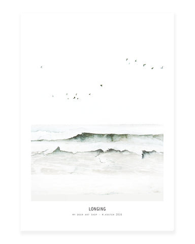 A5 Mini art print - Longing