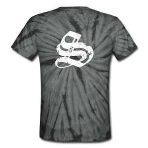 Unisex Tie Dye T-Shirt TEST - spider black