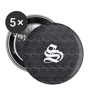 SonS Buttons large 2.2'' (5-pack) - white