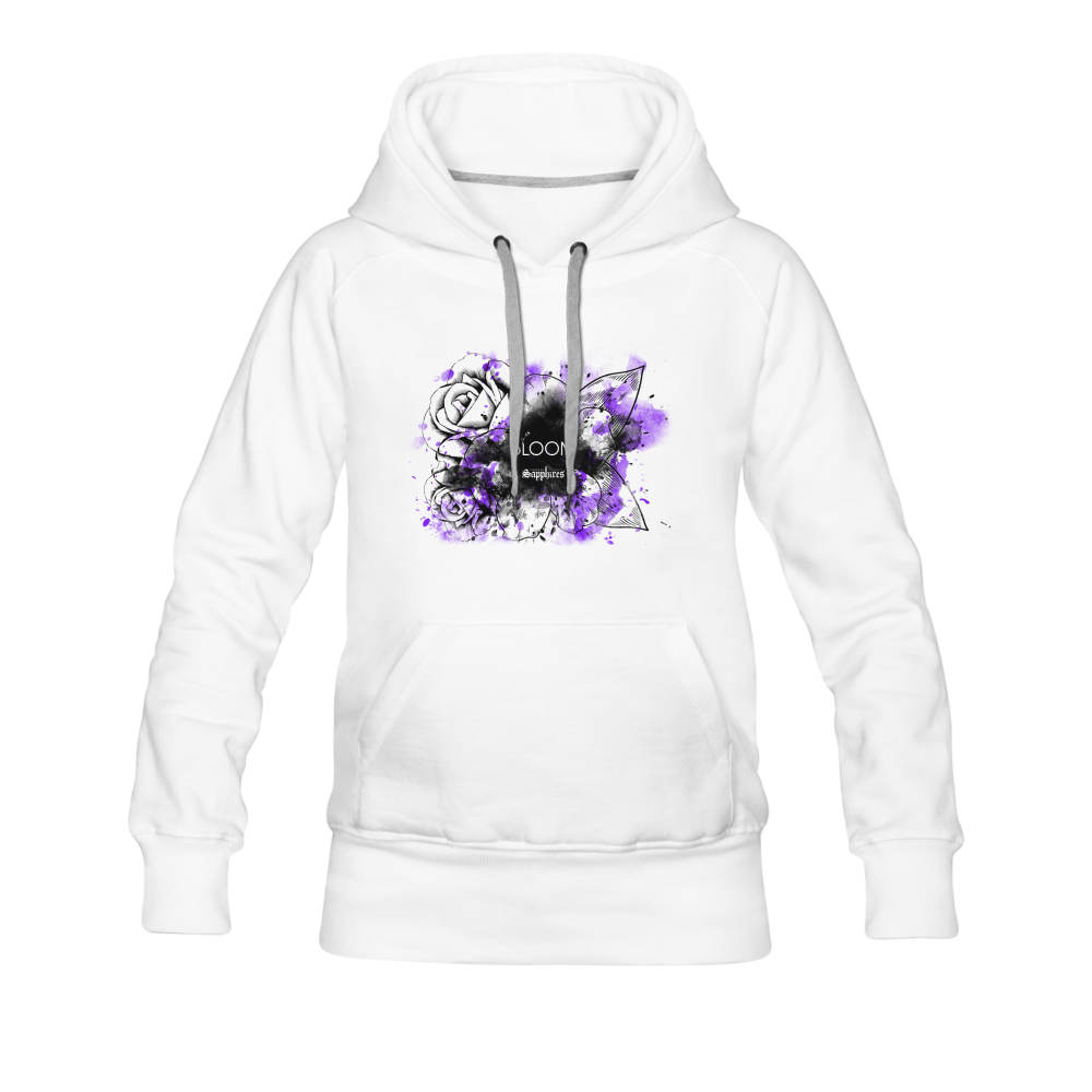 Women's BLOOM Hoodie - white