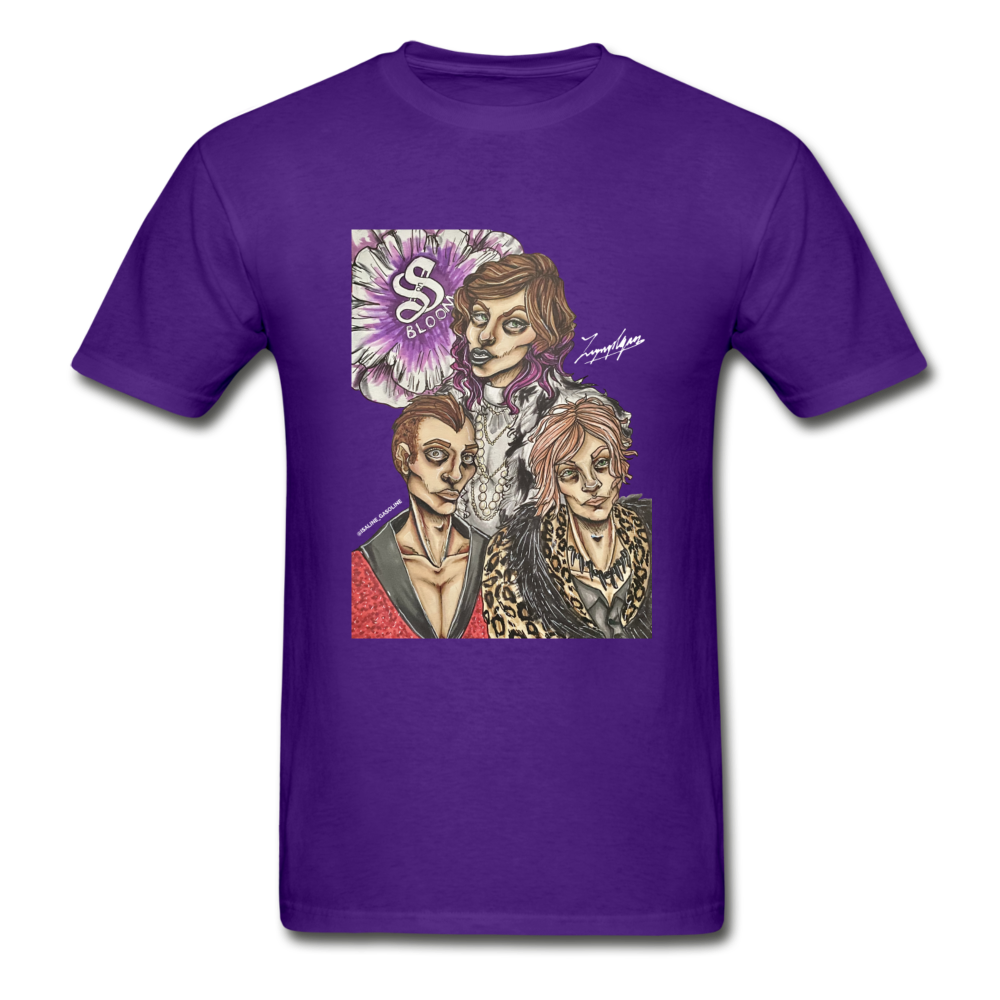 February Fan Art Featured Tee - purple