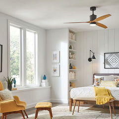 Hinkley Hover fan and sconces