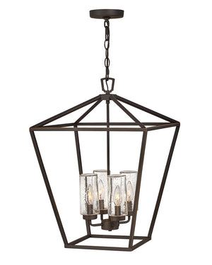 Hinkley - 2567OZ-LL - Four Light Outdoor Lantern - Alford Place - Oil Rubbed Bronze