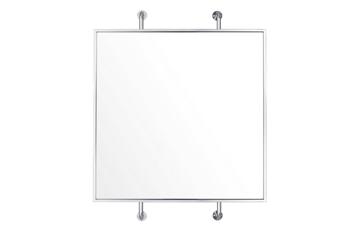 Tycho Polished Nickel Mirror by Varaluz