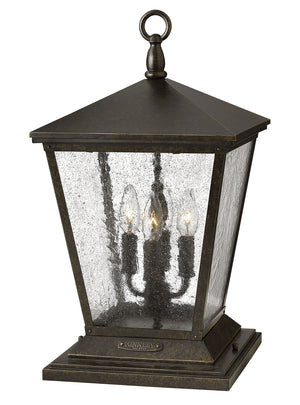 Hinkley - 1437RB - Four Light Post Top/ Pier Mount - Trellis - Regency Bronze