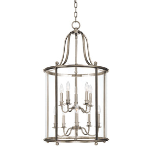 Hudson Valley - 1320-PN - Ten Light Pendant - Mansfield - Polished Nickel