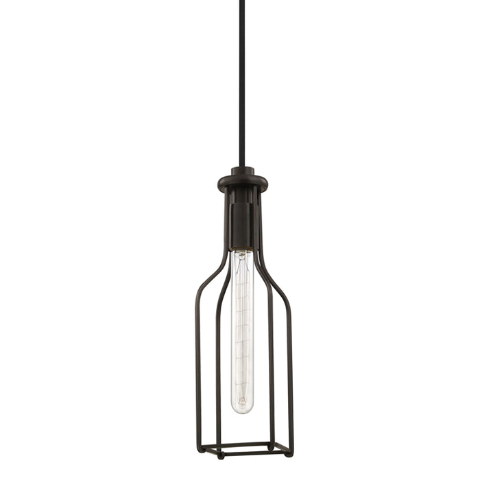 Colebrook Old Bronze One Light Pendant by Hudson Valley