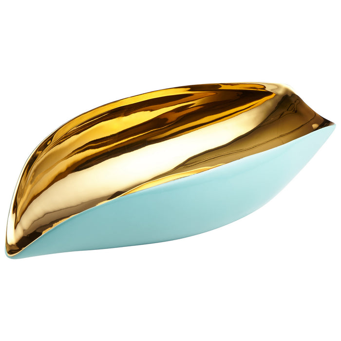 Cyan Bowl in Aqua finish from the Mavis collection