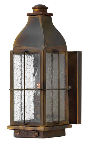 Hinkley - 2040SN-LL - One Light Wall Mount - Bingham - Sienna