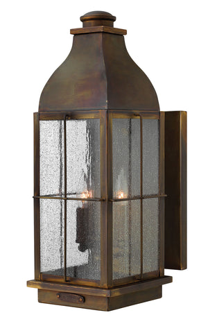 Hinkley - 2045SN-LL - Three Light Wall Mount - Bingham - Sienna