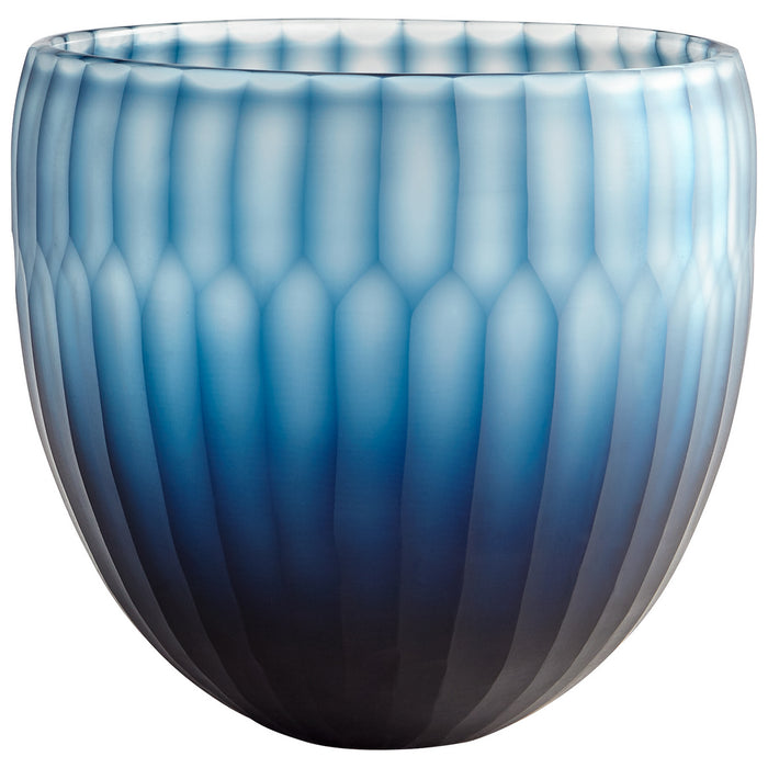 Cyan Bowl in Blue finish